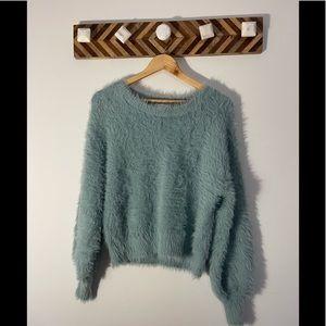 London Kaye Fuzzy Sweater